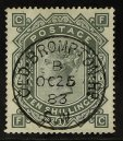 Queen Victoria High Value GB Stamps