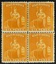 "Barbados - Fabulous Collection Many Lovely ""Britannias"""