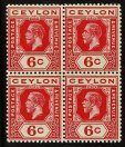 Ceylon - Extensive Range Of Better Stamps And Collections