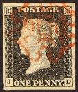 GB Queen Victoria Stamps