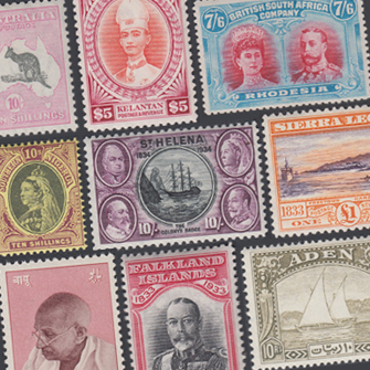Commonwealth Stamps