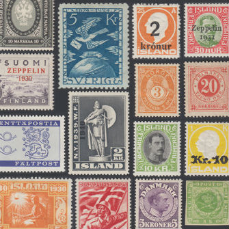 Scandinavia Stamps