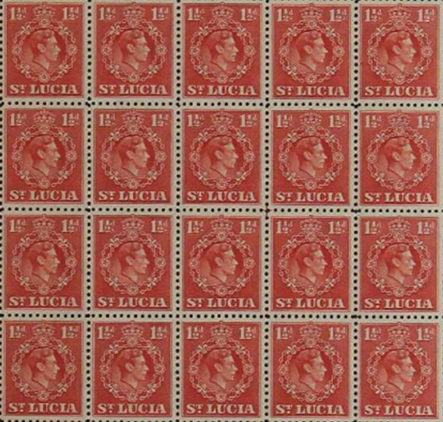 St Lucia Stamps
